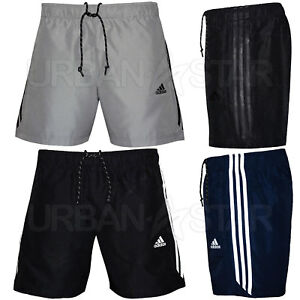 Adidas-Essential-3-Stripe-Chelsea-Shorts-Mens-Original-Climalite-Gym-Shorts