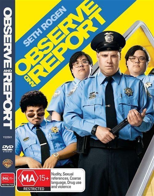Observe & Report (DVD, 2009) LIKE NEW ... R4