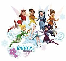 DISNEY FAIRIES SECRET OF THE WINGS 54 BiG Wall Stickers TINKERBELL Decor Decals