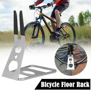 Xmas Sale❤Adjustable Bike Carrier Rack Upright Bike Storage Stand Vertical Floor