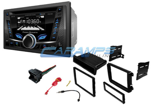 NEW POWER ACOUSTIK STEREO RADIO AUX//USB CD BLUETOOTH INSTALL KIT FOR VOLKSWAGEN