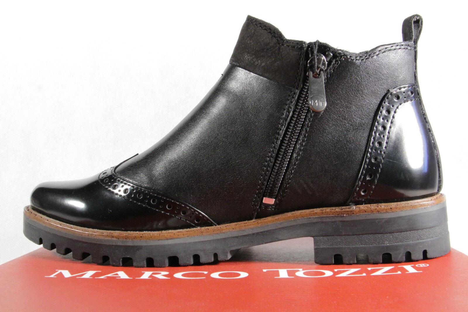 Marco Tozzi Stiefel, Stiefelette, Stiefel, Stiefel, Tozzi Schlupfstiefel, schwarz, 25453NEU f6b6ba