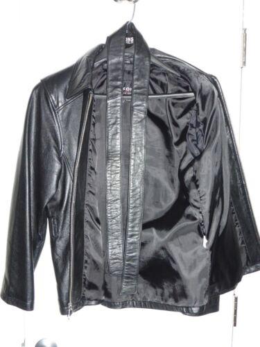 Women's Black Leather Size Medium Jacket Wilsons tqtrnw8px