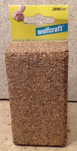 Wolfcraft Handschleifklotz Schleifblock aus Kork 123 x 67 x 45 mm 2896000