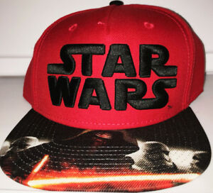 a9cecab4491 Image is loading Star-Wars-Snapback-Hat-Cap-Stormtrooper-Kylo-Ren-