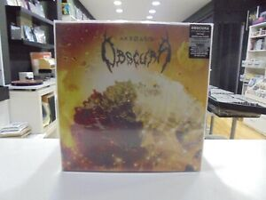 Obscura 2LP Europa Akroasis 2016 Klappcover Exclusive Blood Red Vinyl
