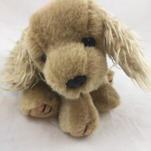 Ty Puppy Dog Cocker Spaniel Plush 1996 Tan Brown Stuffed Animal 11