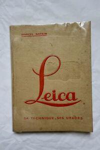 Copieux La Photographie Sur Petit Format ; Le Leica 1933 MatéRiaux Soigneusement SéLectionnéS