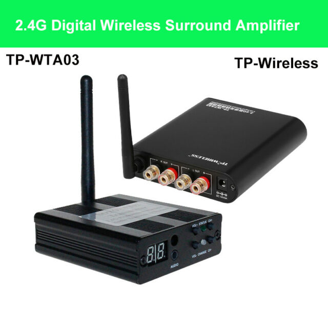 TP-Wireless 2.4GHz Wireless Surround Amplifier System Audio Music Home Theater