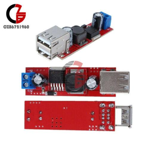 1//2//5PCS LM2596 DC 6V-40V To 5V 3A Dual USB Charger Step down Converter Module