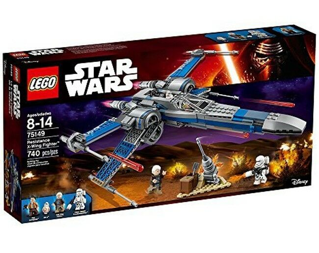 Lego 75149-Star Wars-Resistencia X-wing Fighter-Nuevo