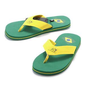 New Emporio Armani EA7 Unisex Designer Flip Flops / Sandals / Beach - France