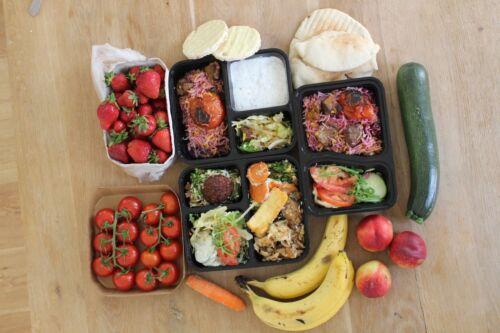 fraîchement considère dosesLunch Boxe 10 Pack3 fois Meal Prep conteneur