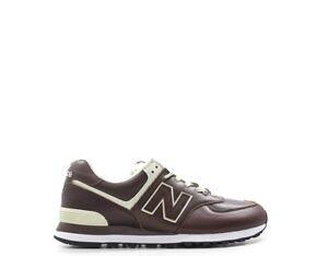 Uomo Naturale Marrone Balance Ml574lpbEbay Scarpe New Sneakers Pelle lK1TFuJc3