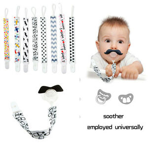 Baby-Kids-Boy-Girl-Chain-Clip-Holders-Dummy-Pacifier-Soother-Nipple-Leash-Strap