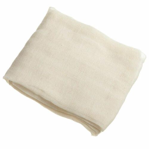Blanc tissu de coton Fromage Chiffon fatiguer Passoire gaze beurre mousseline 180x90cm
