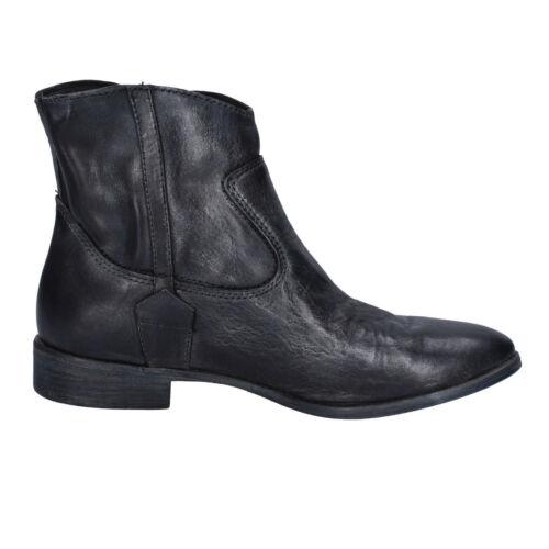ankle pelle Crime donna nera 5 38 b da Ak991 London scarpe boots donna in x0vqF