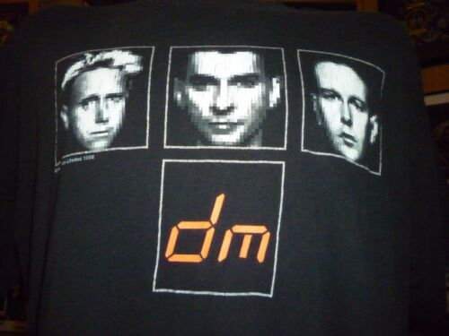 Depeche Mode Vintage 1998 Shirt ( Used Size L ) Good Condition!!!