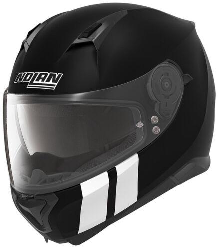 NEW NOLAN N87 N-COM FULL FACE Motorcycle Motorbike Helmet MARTZ FLAT BLACK