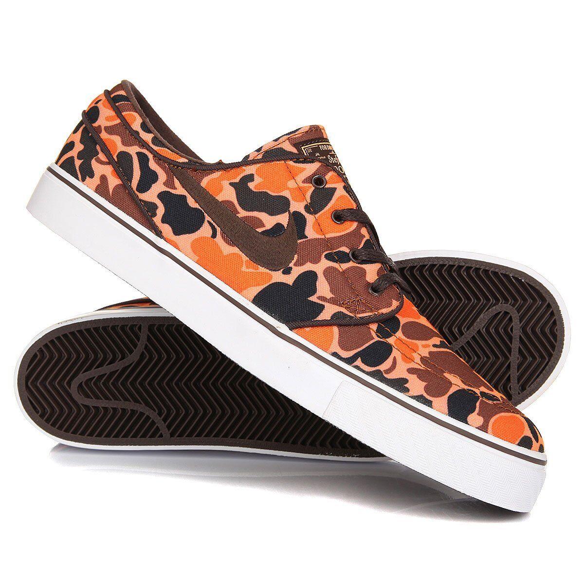 Nike SB Stefan Janoski Hazelnut Peach Camo sz 9.5 Skate Board Chaussures 705190-221