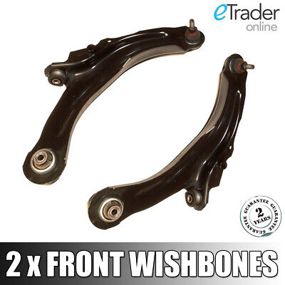 For RENAULT MEGANE 2002-2008 FRONT WISHBONE CONTROL ARM LOWER BALL JOINTS X2