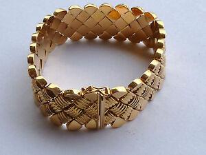 # 370 # Armband Schmuckband 750/000 Gold 18k LÄnge 18,2 Cm