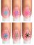 Indexbild 5 - Nail Tattoo Nail Art Schneeflocken Eiskristalle Winter Weihnachten + Glitter