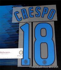 Inter de Milán, Crespo 18 2006/07 Camiseta de Fútbol del nombre número Set Kit De Distancia
