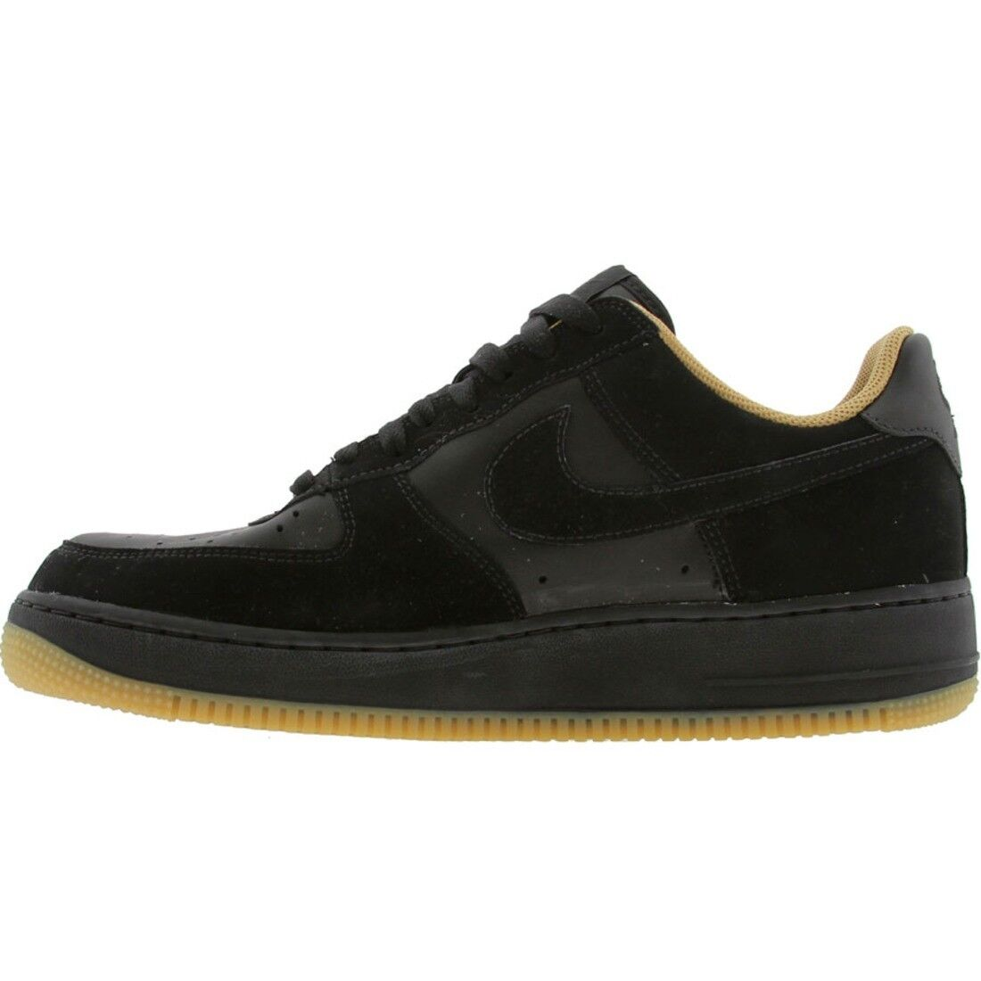 Nike Oro Force 1 bajo Negro Oro Nike Air 8a2302