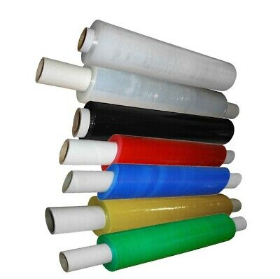 1 extended core clear palette stretch wrap free p/&p 400mmx250m