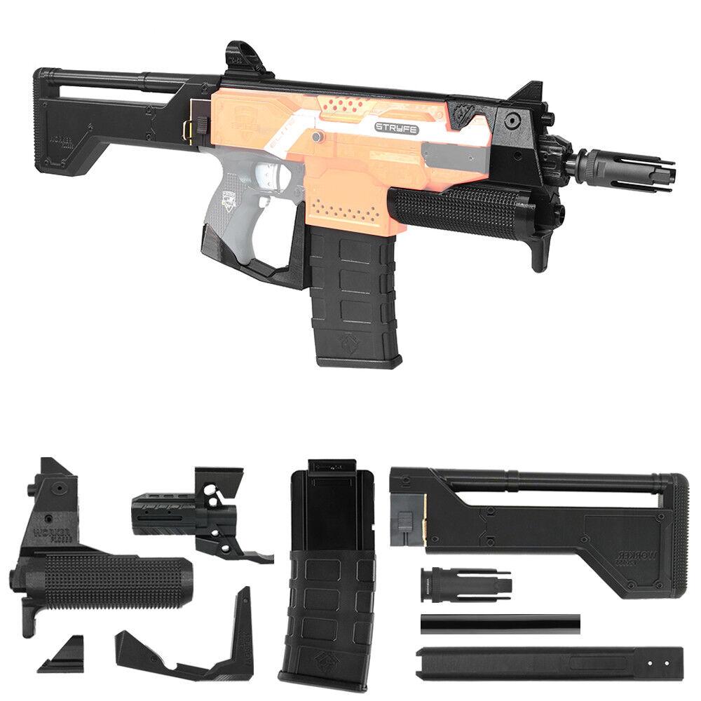 Trabajador Mod F10555 Rifle de soldado de juguete impresión 3D Kit De Imitación Nerf Stryfe modificar Juguete