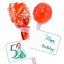 60  Little Mermaid Tootsie Pops Lollipop Candy Wrappers Favor Labels Stickers
