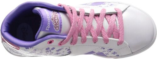 Reebok Sofia Court Mid Classic Shoes Little Kid White//Solar Pink Girls M47065