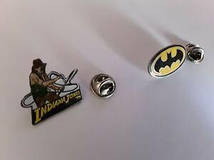 PIN-039-S-pin-lot-Batman-indiana-Jones-pin-jaune-signe-DC-Comics-1989-jones-93