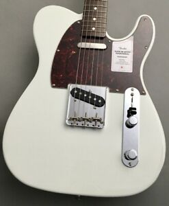 Fender 2021 Traditional 60s Telecaster Roasted Neck Olympic White #GG4o3