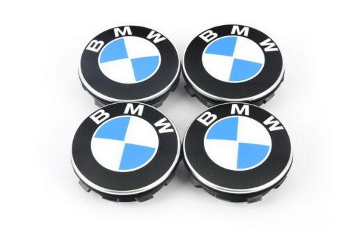 Neuf BMW Original Flottant Centre de Roue Housse Enjoliveurs 65 mm Set 2455269