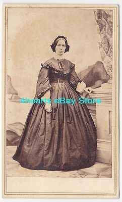 G13-939 Mrs James Adams, mother of Ida Adams Brown - likely Whitehall, NY - id'd