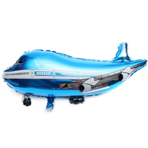 New 31 inch Flying Plane Shape Balloon Airplane Foil Helium Balloon Party De ed