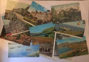 Old-Vintage-Postcards-Collection-UK-amp-Ireland-Topo-B-W-Colour-Job-Lot-Mixed-Eras