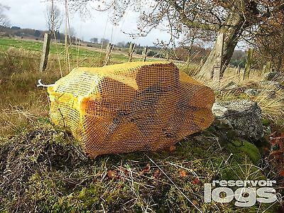 ASH Wood Logs Burning Stove, Chiminea, Firepit, Pizza Oven - 40 litre Large Net