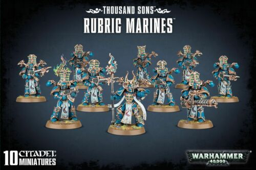 Thousand Sons rubric Marines Warhammer 40,000