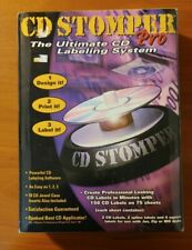 Cd Stomper Pro Cd Labeling System Brand New Factory Sealed