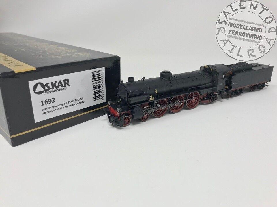 Os.kar 1692 lokomotive dampf im pazifischen ozean fs gr 691.023 ep.iii  petrolio