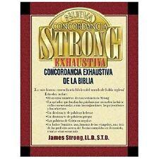 Nueva Concordancia Strong Exhaustiva de la Biblia by James Strong (2002, Hardcover)