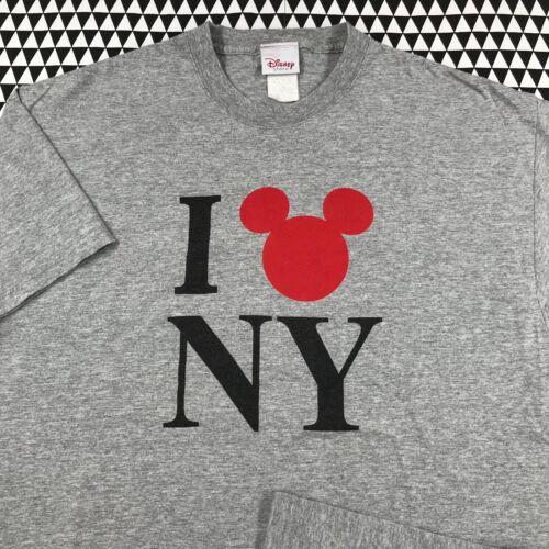 Vintage MICKEY MOUSE I Love NY T Shirt Size L Larg