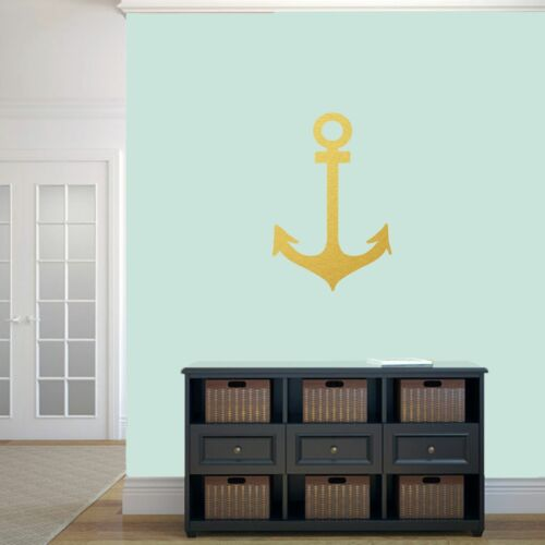 Beach Lake Sea Nautical Kids Living Room Anchor Wall Decal Nursery Art