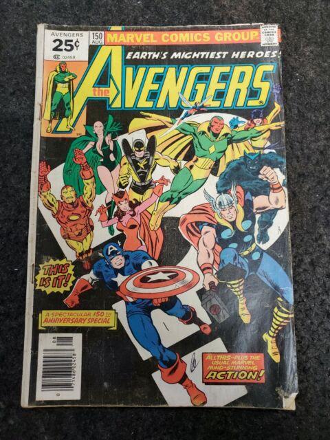 The Avengers 150 Aug 1976 Marvel For Sale Online Ebay
