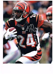 Adam Jones Pac-Man Cincinnati Bengals Signed 8x10 Photo Who Dey | eBay