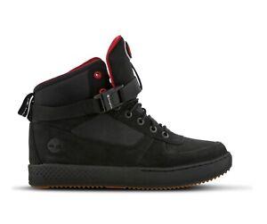 Détails sur Timberland Ville Vagabonder Cuir pour Hommes Nubuck Chaussures Noires Taille 6.5