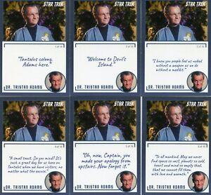 Star-Trek-Archives-amp-Inscriptions-card-22-Dr-Tristan-Adams-all-16-different-Var